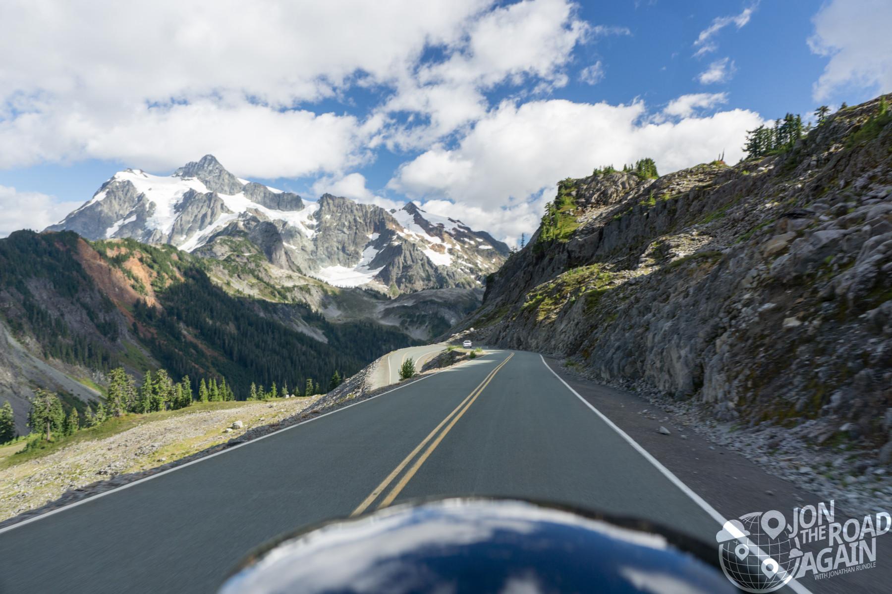 Motorcycling Artist Point / Mount Baker