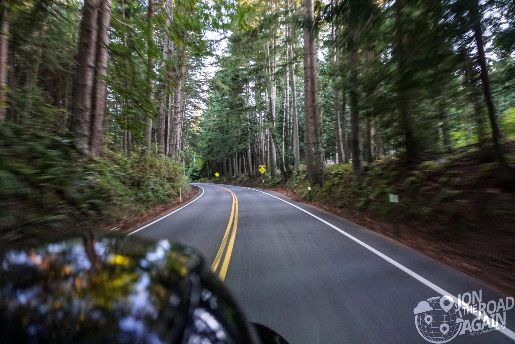 Riding Chuckanut Drive