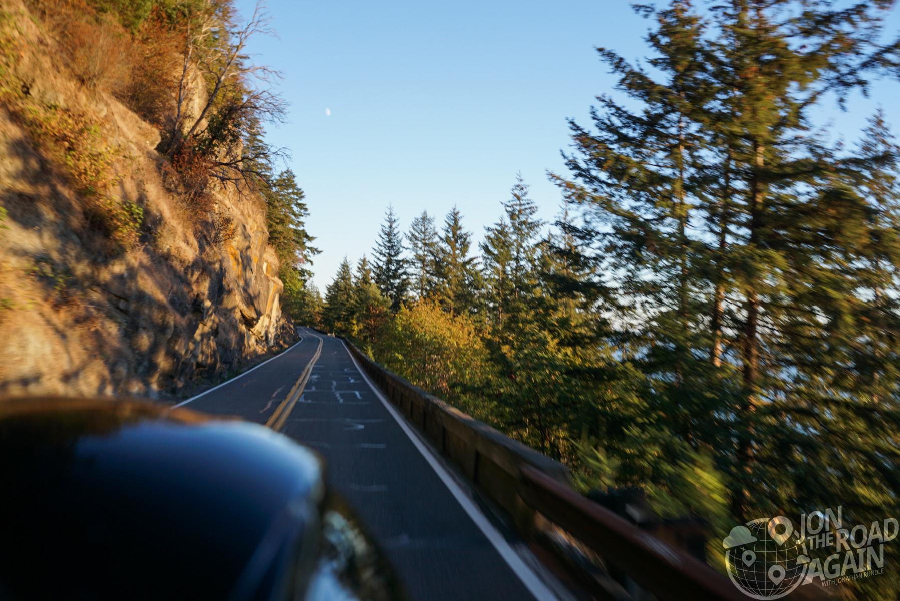 Riding Chuckanut Drive