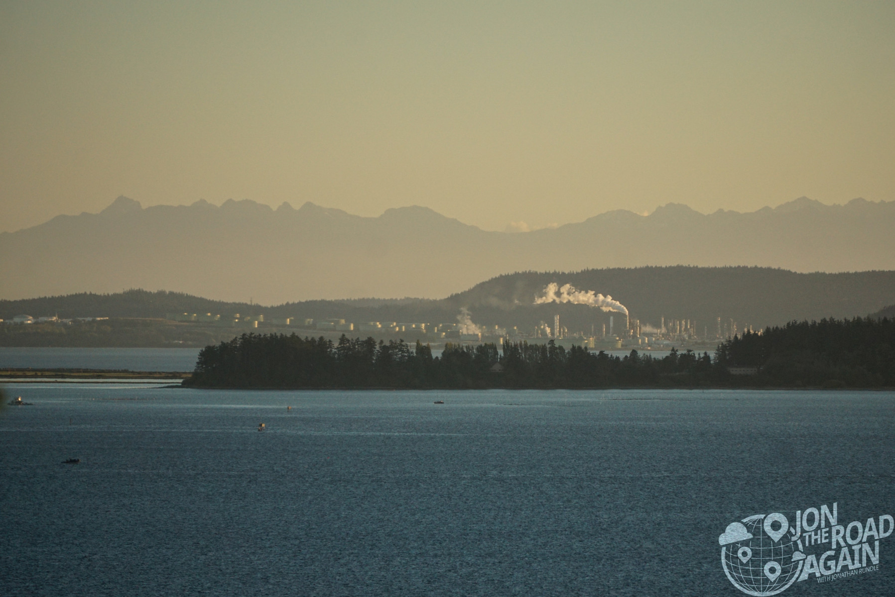 View of Anacortes from Chuckanut Drive