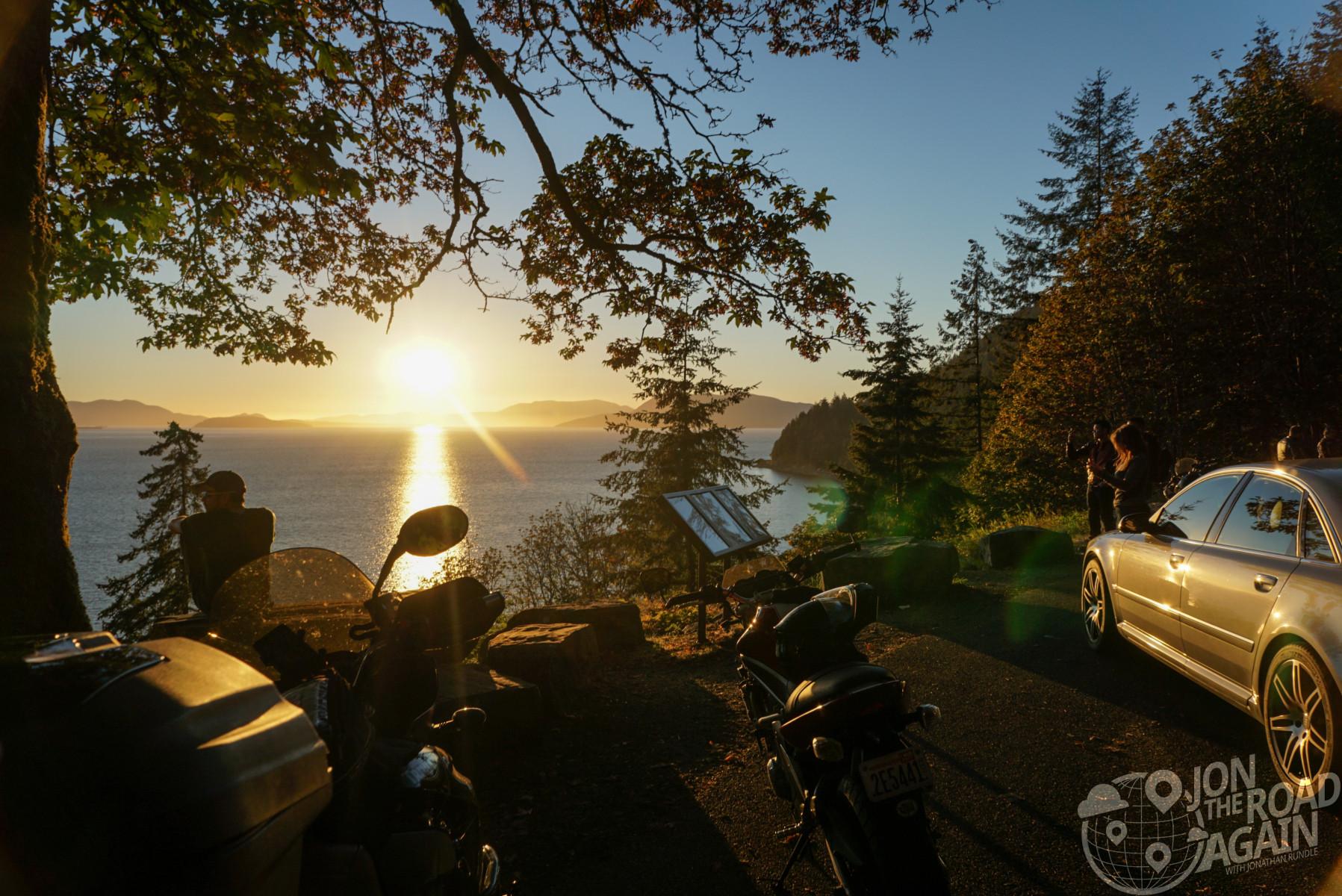 Sunset on Chucknut Drive