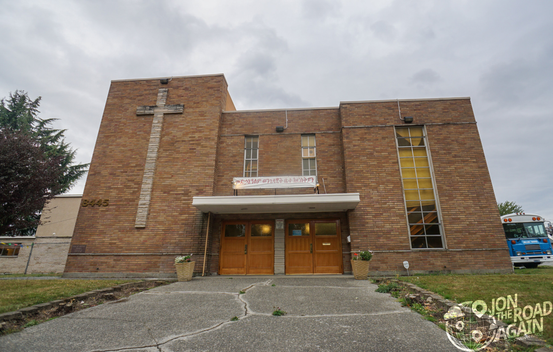 Dunlap Baptist Church Jimi Hendrix Funeral