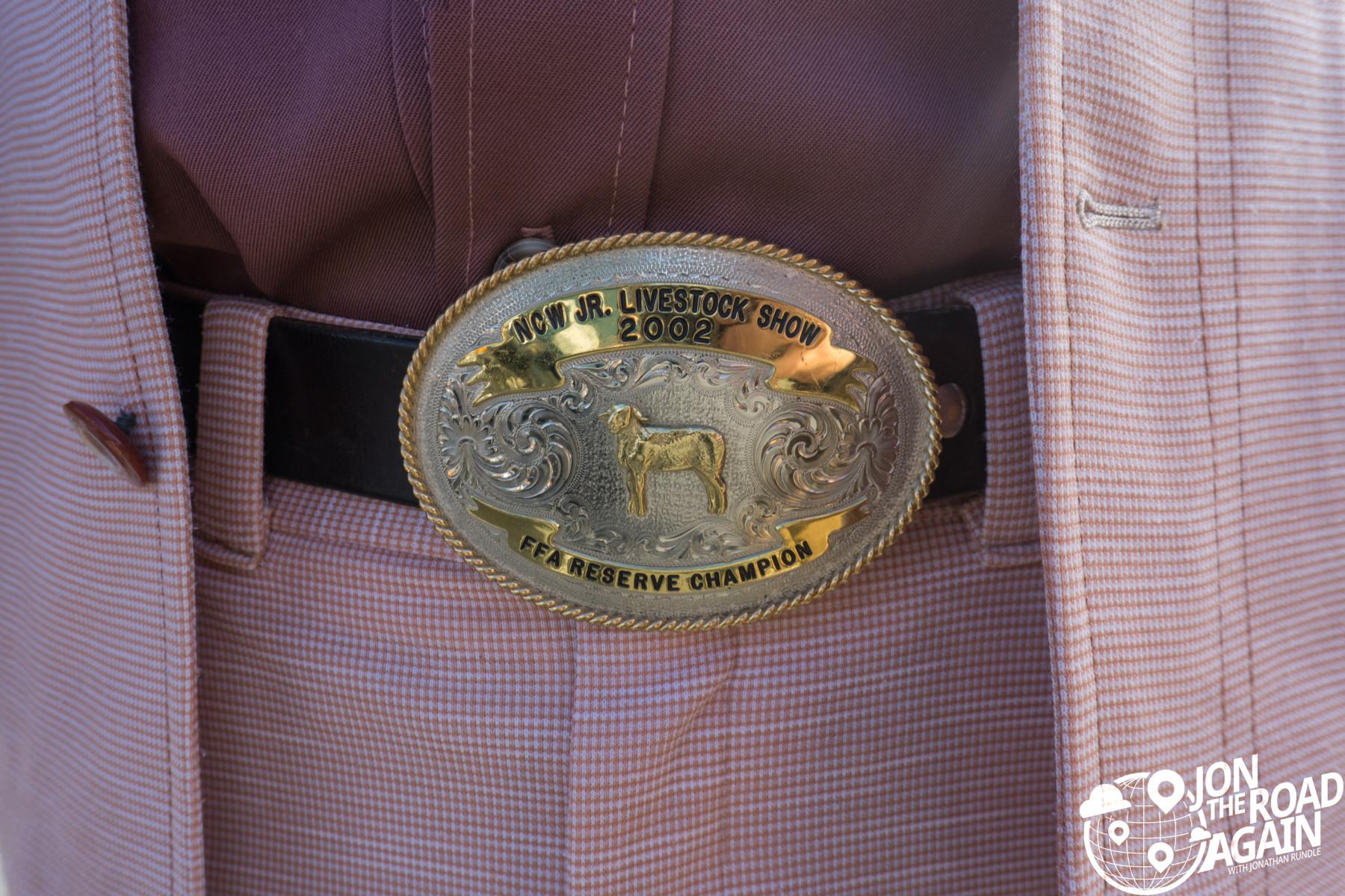 DGR belt buckle