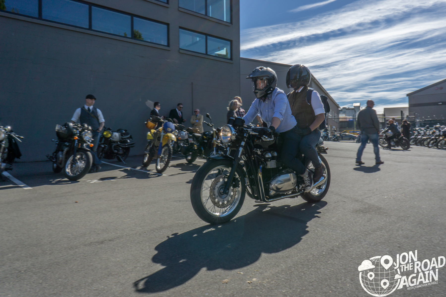 Distinguished Gentlemen's Ride Seattle 2016