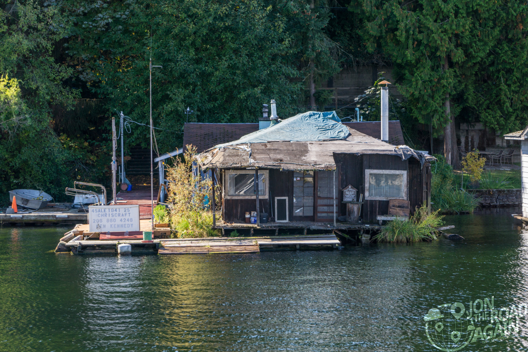 First ever Seattle houseboat