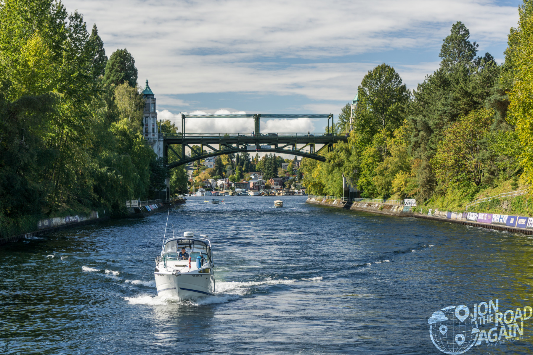 University bridge and montlake cut in Seattle