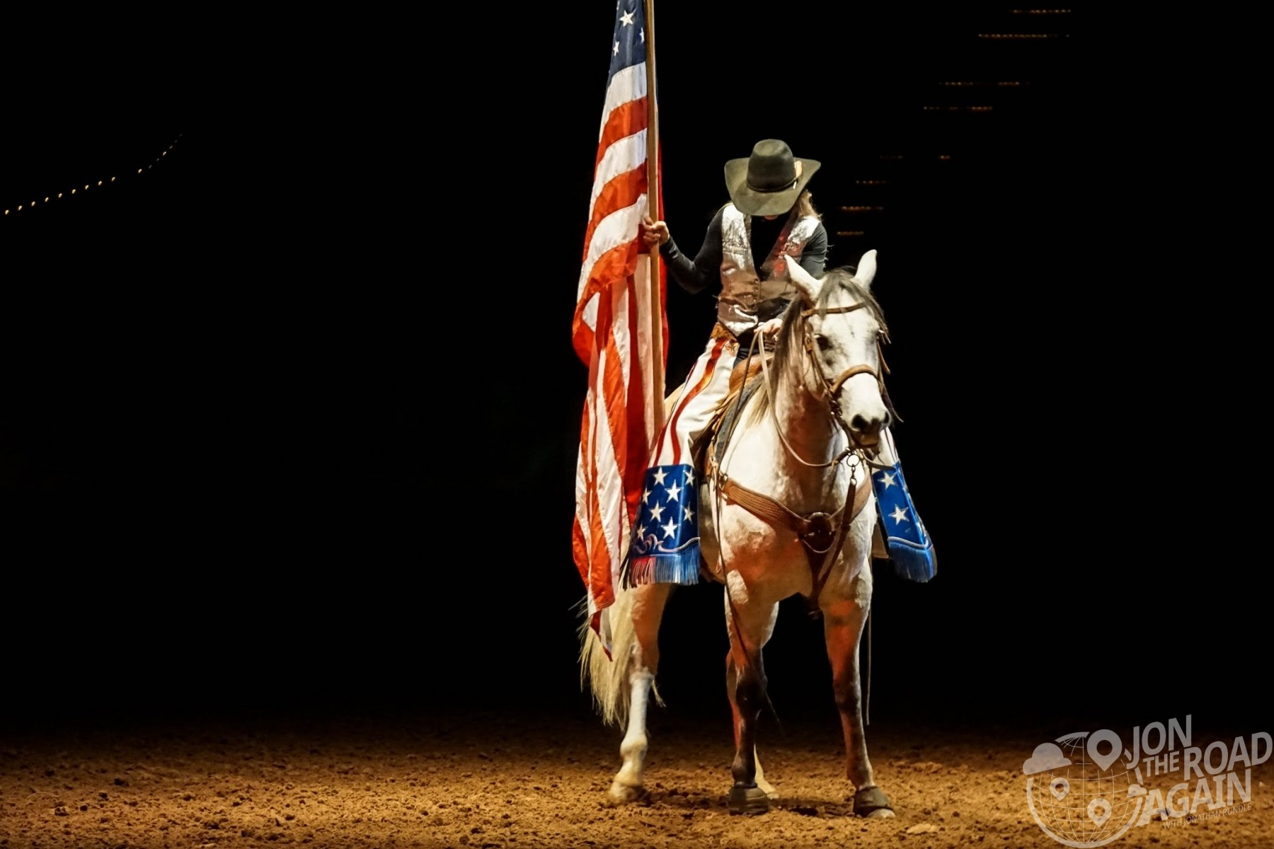Election Day - Cowgirl Flag