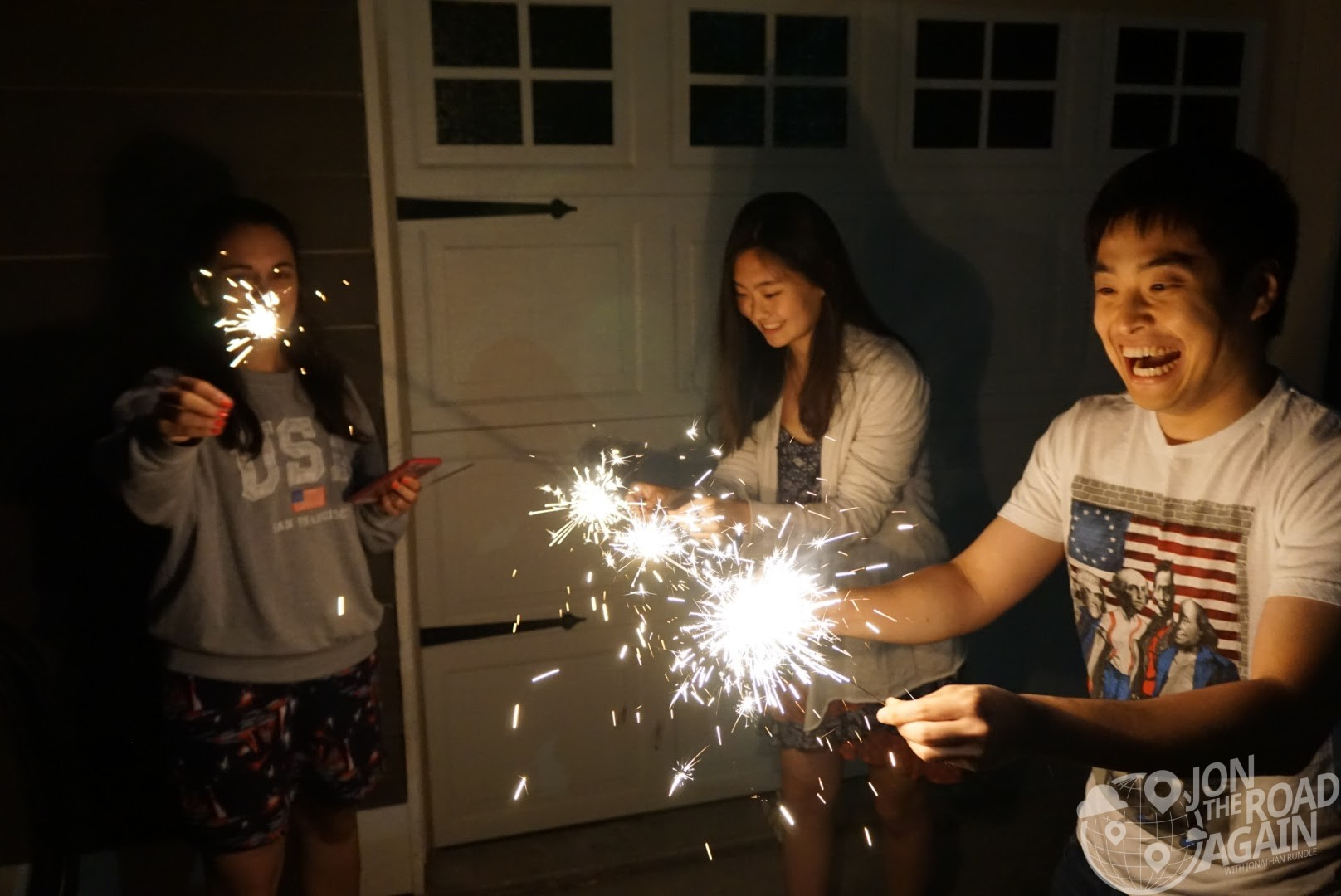 Election Day - sparklers