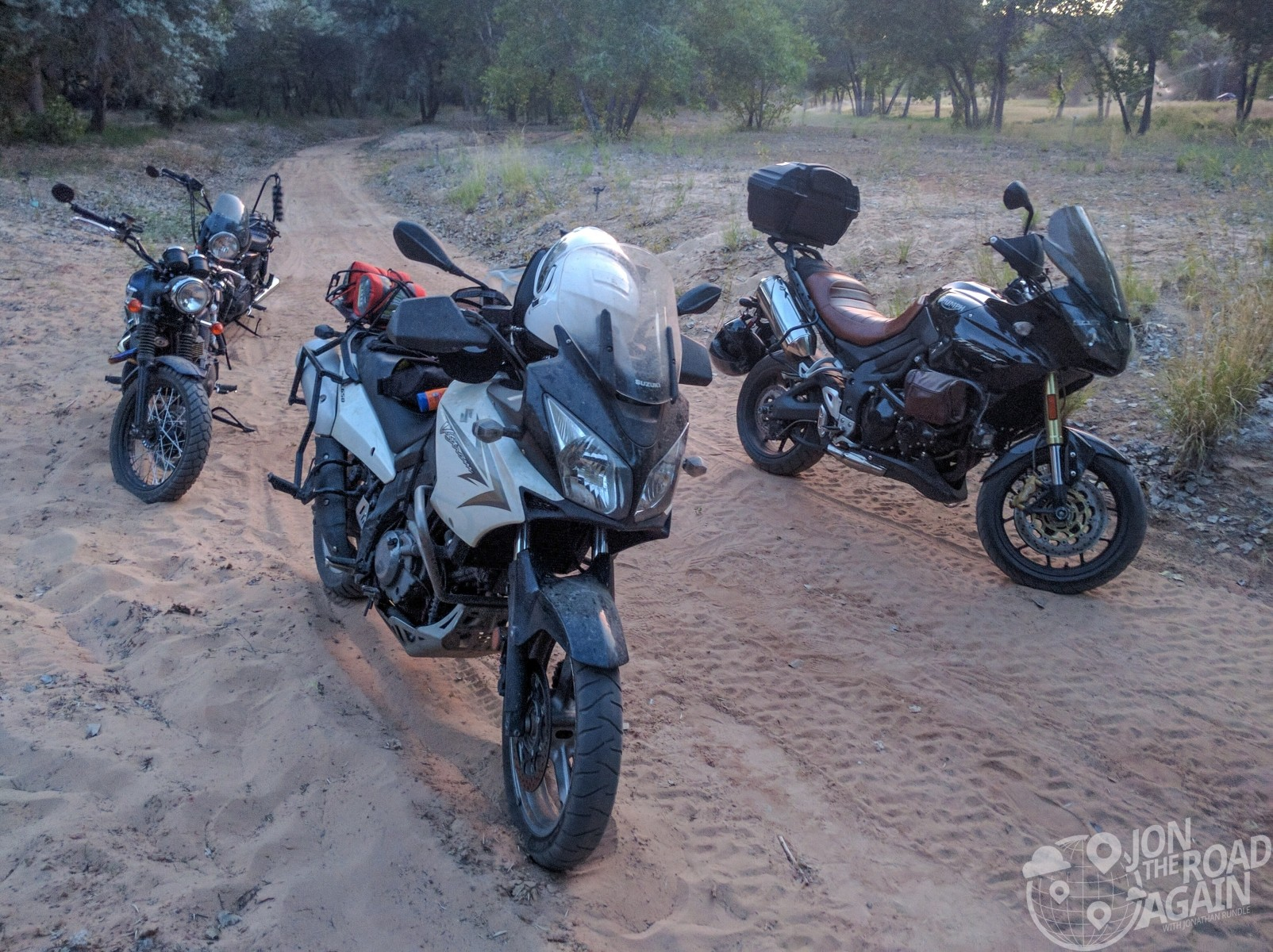 Motocamping in Zion