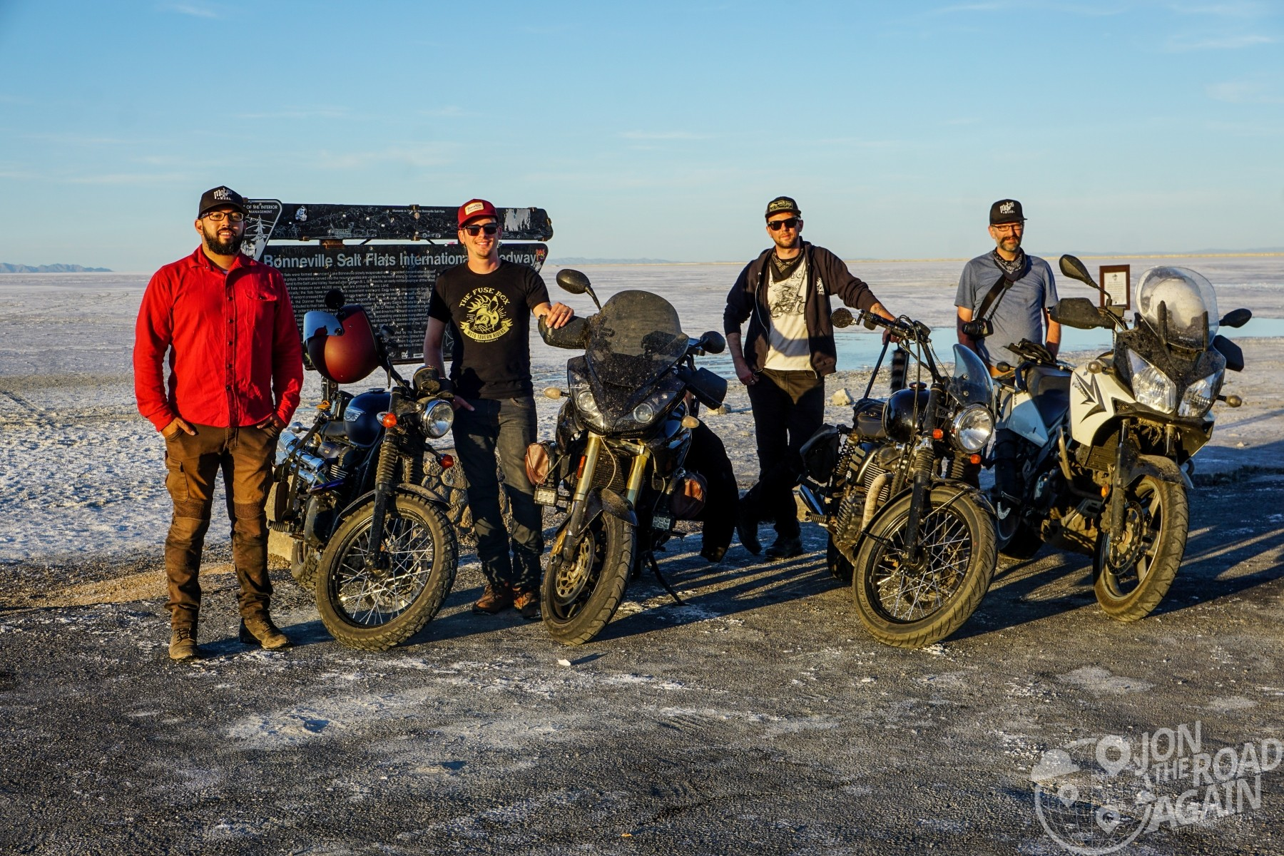 Fuse Box Riders at Bonneville Salt Flats