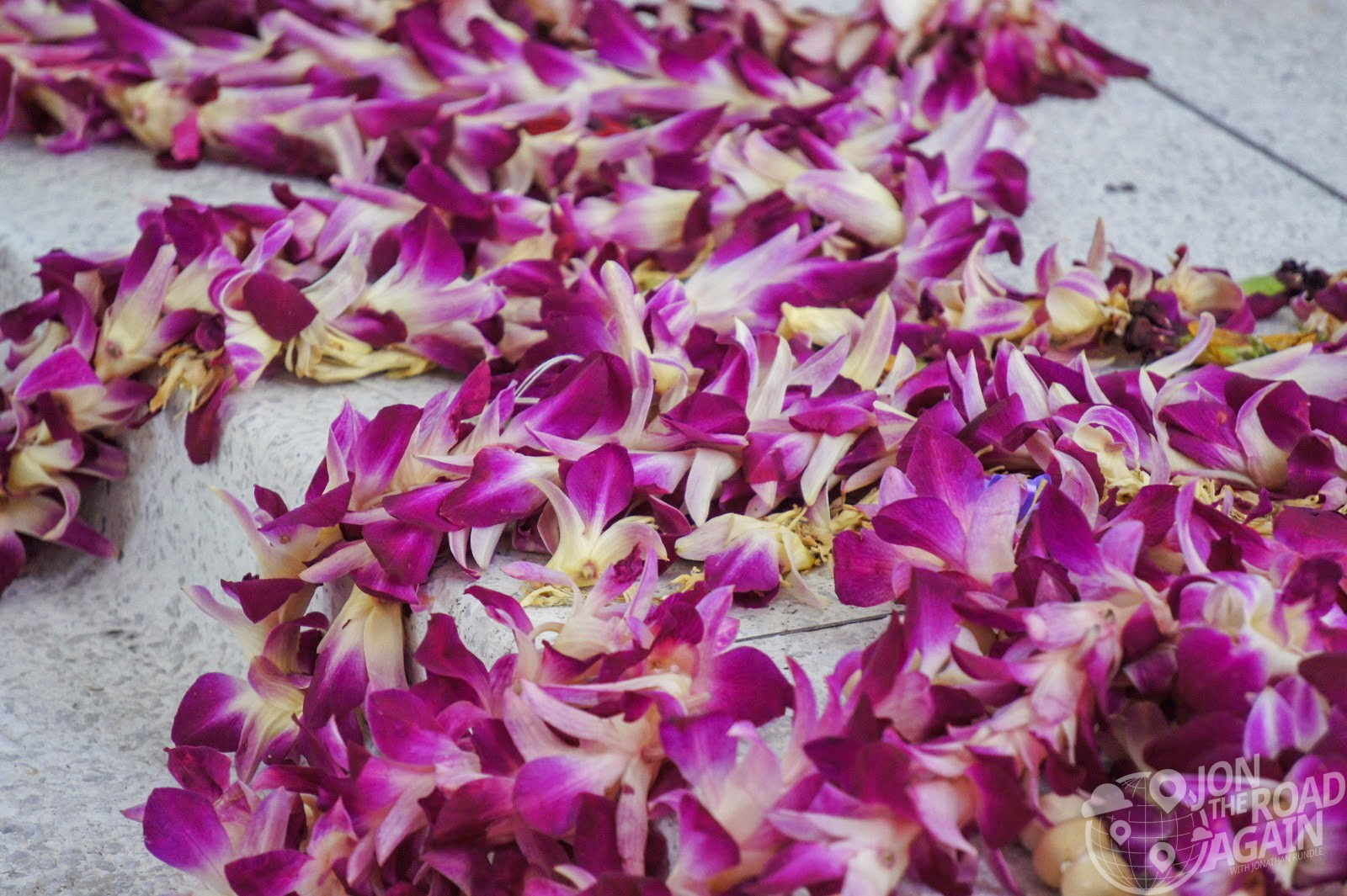 USS Arizona Memorial Flowers