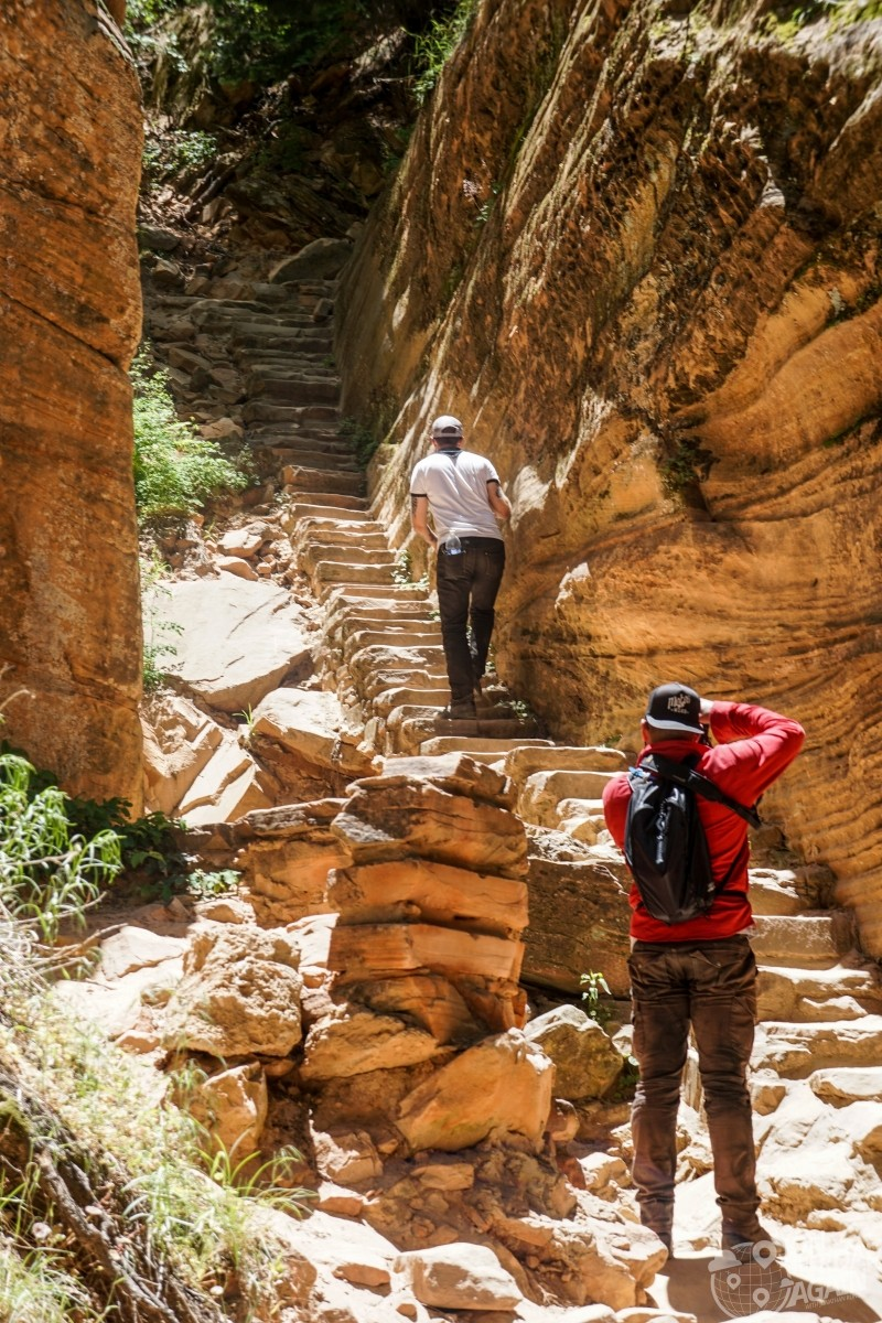 Hidden Canyon Trail Zion