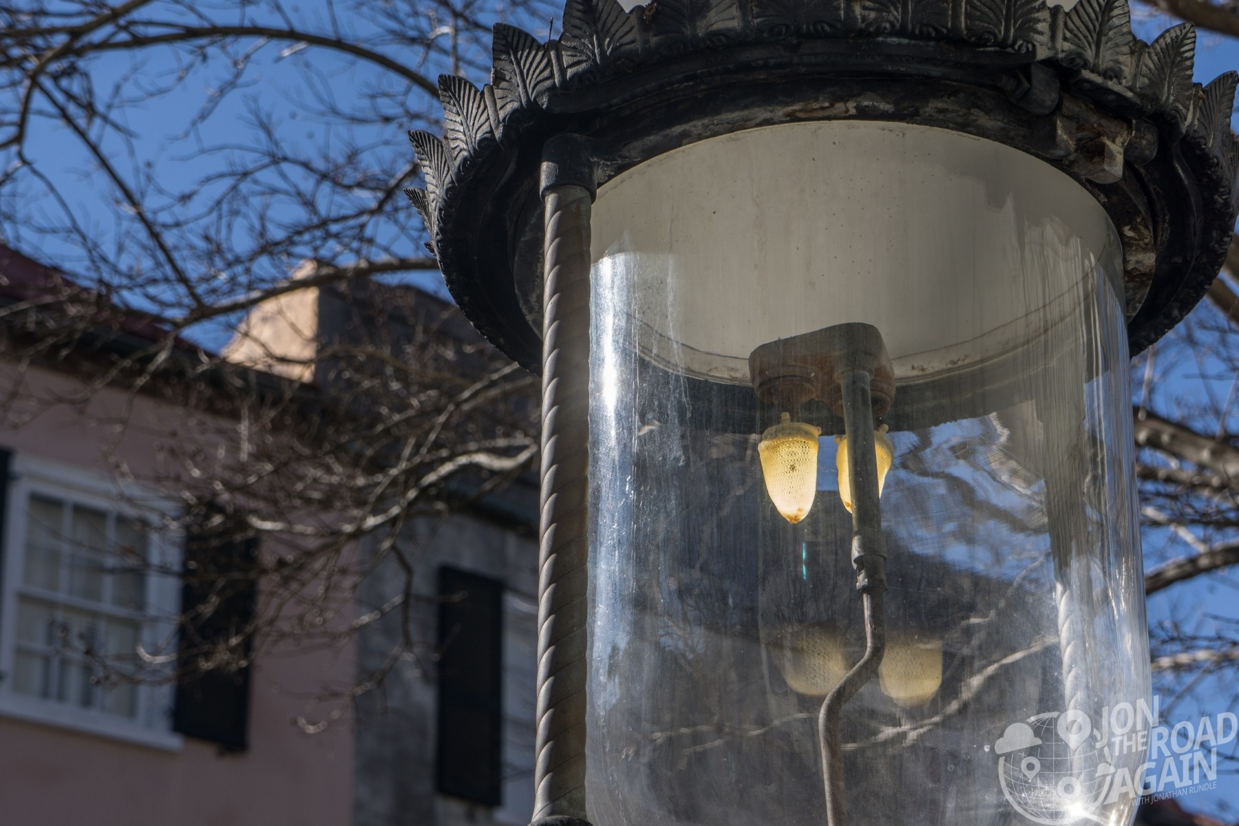 Gas lamps in Charleston, SC
