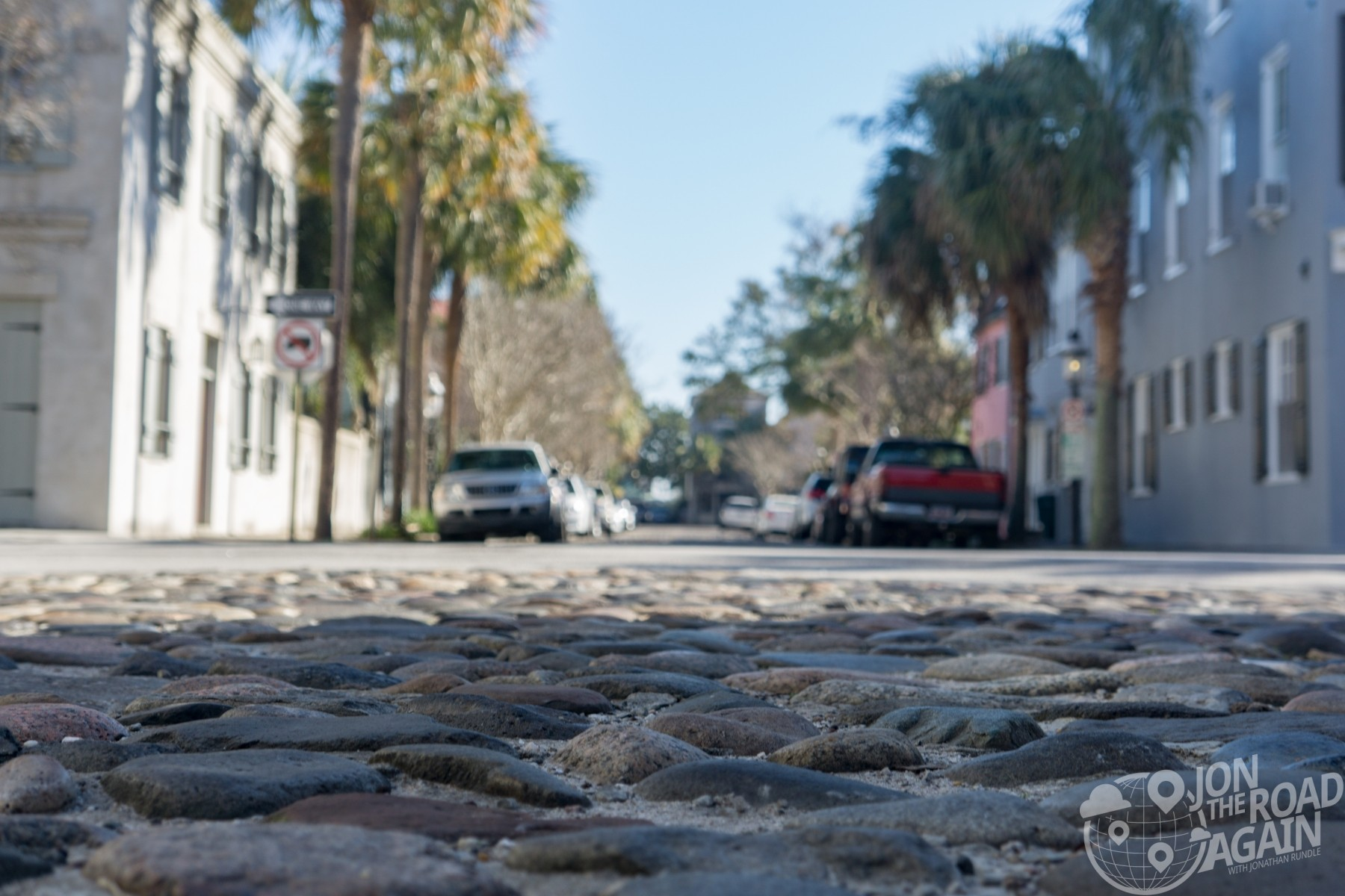 Cobblestone in Charleston, SC