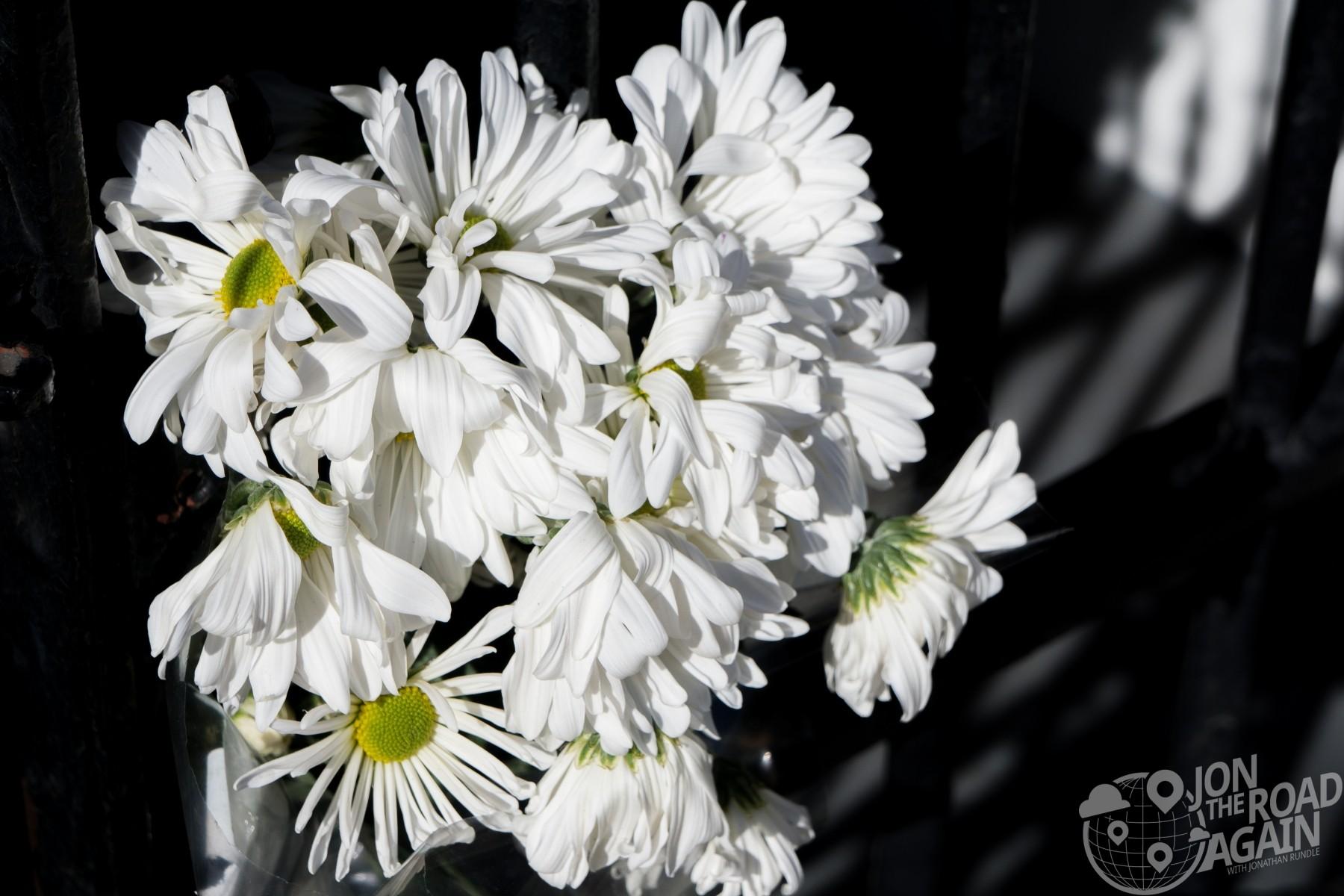 Flowers at Emanuel African Methodist Episcopal Church
