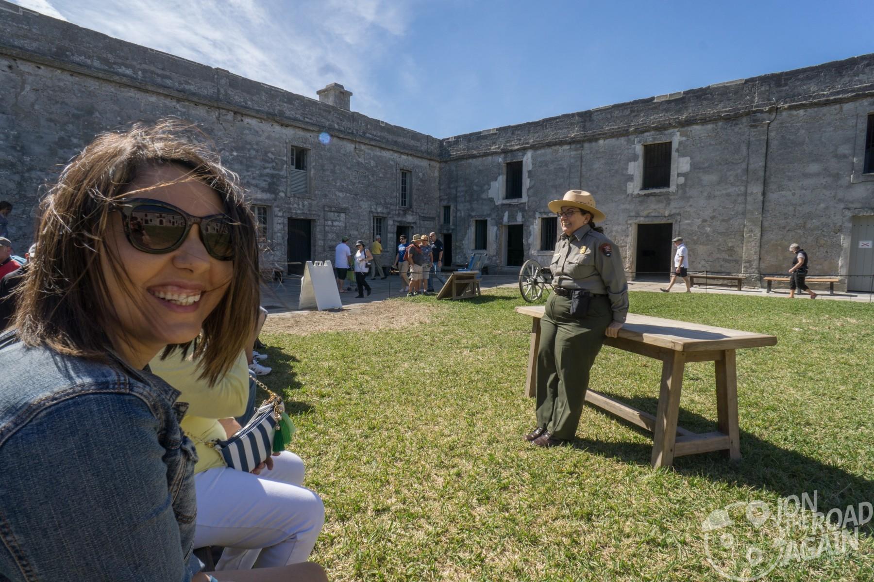 Castillo de San Marcos ranger tour