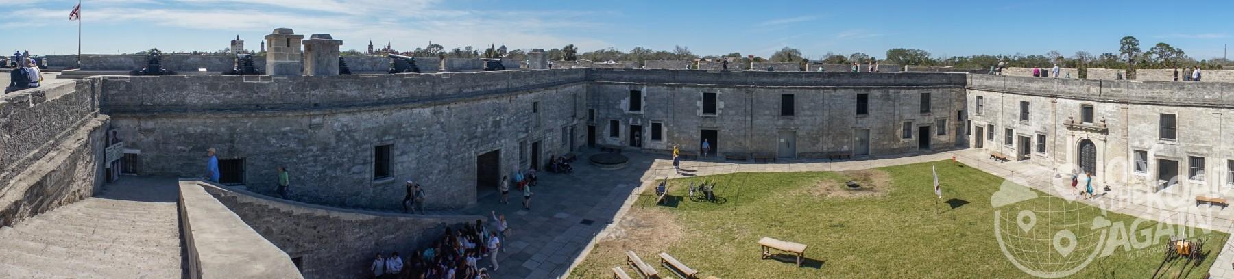 Castillo de San Marcos courtyard
