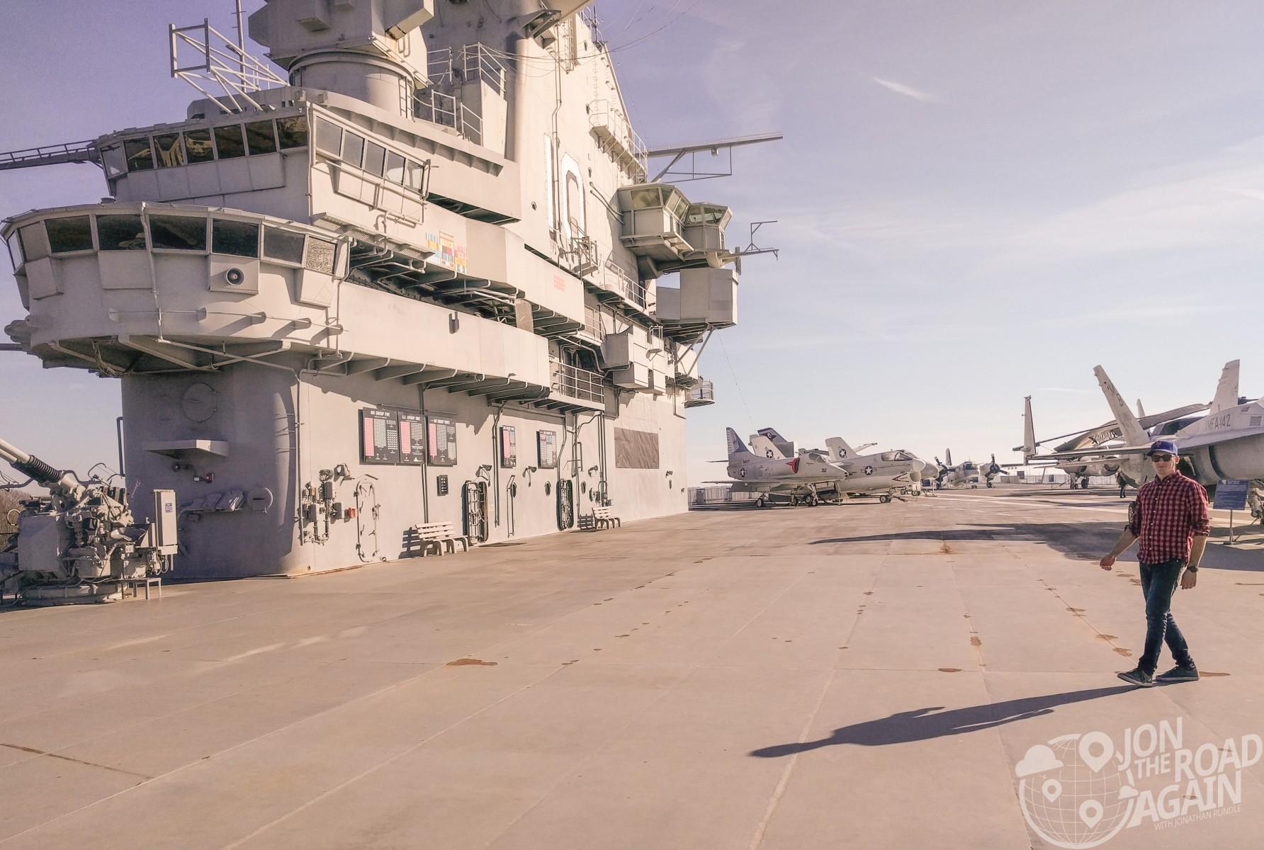 Yorktown deck today