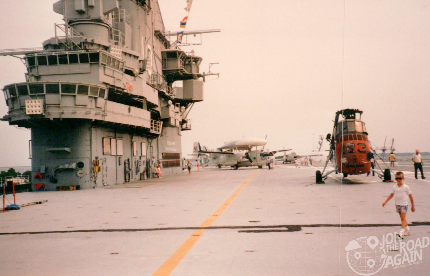Yorktown deck 1986