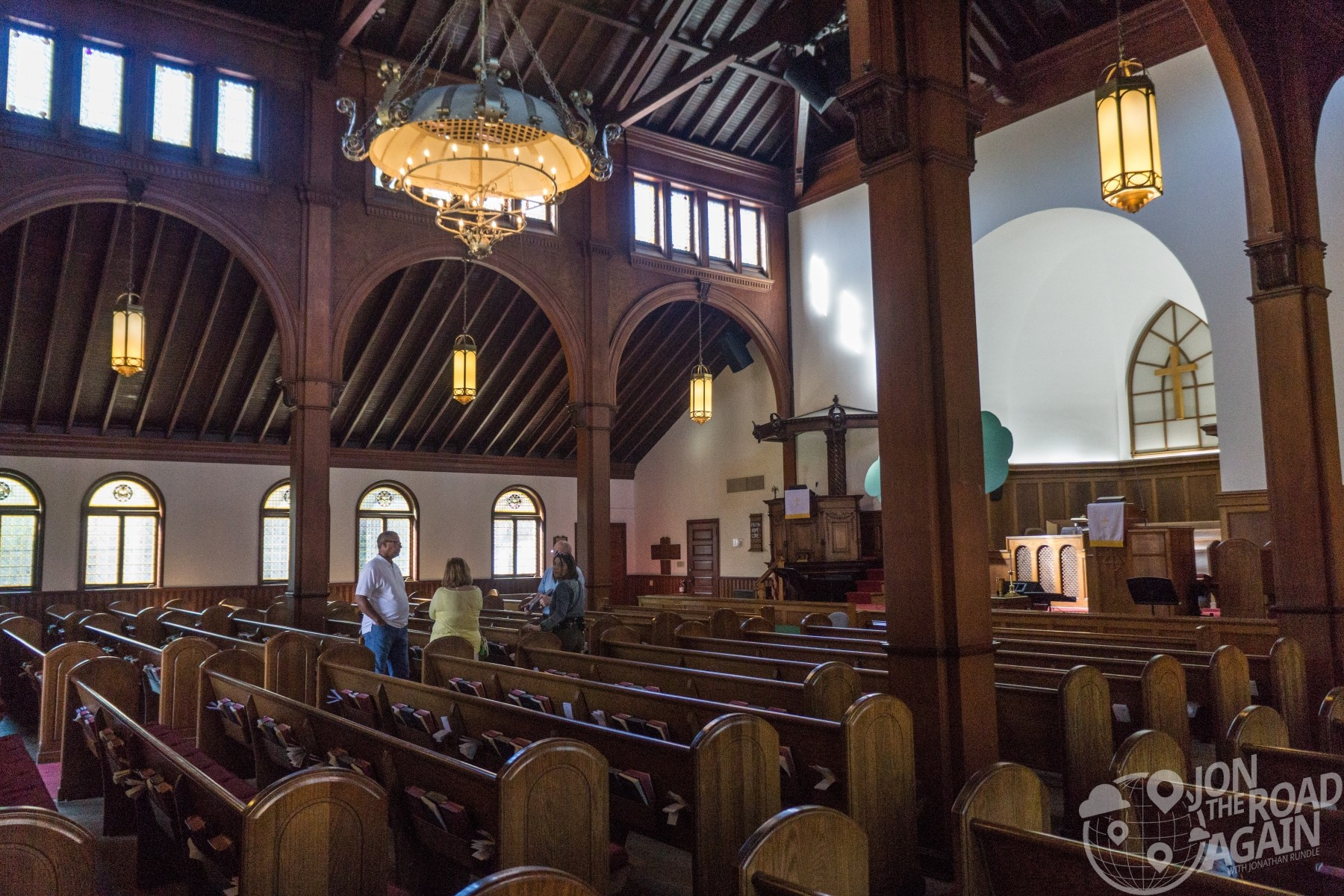 Grace United Methodist Church interior