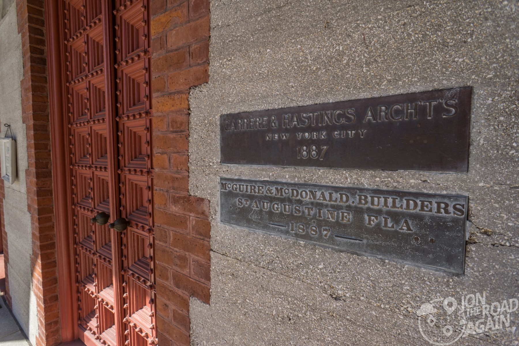 Carrere & Hastings Architects plaque