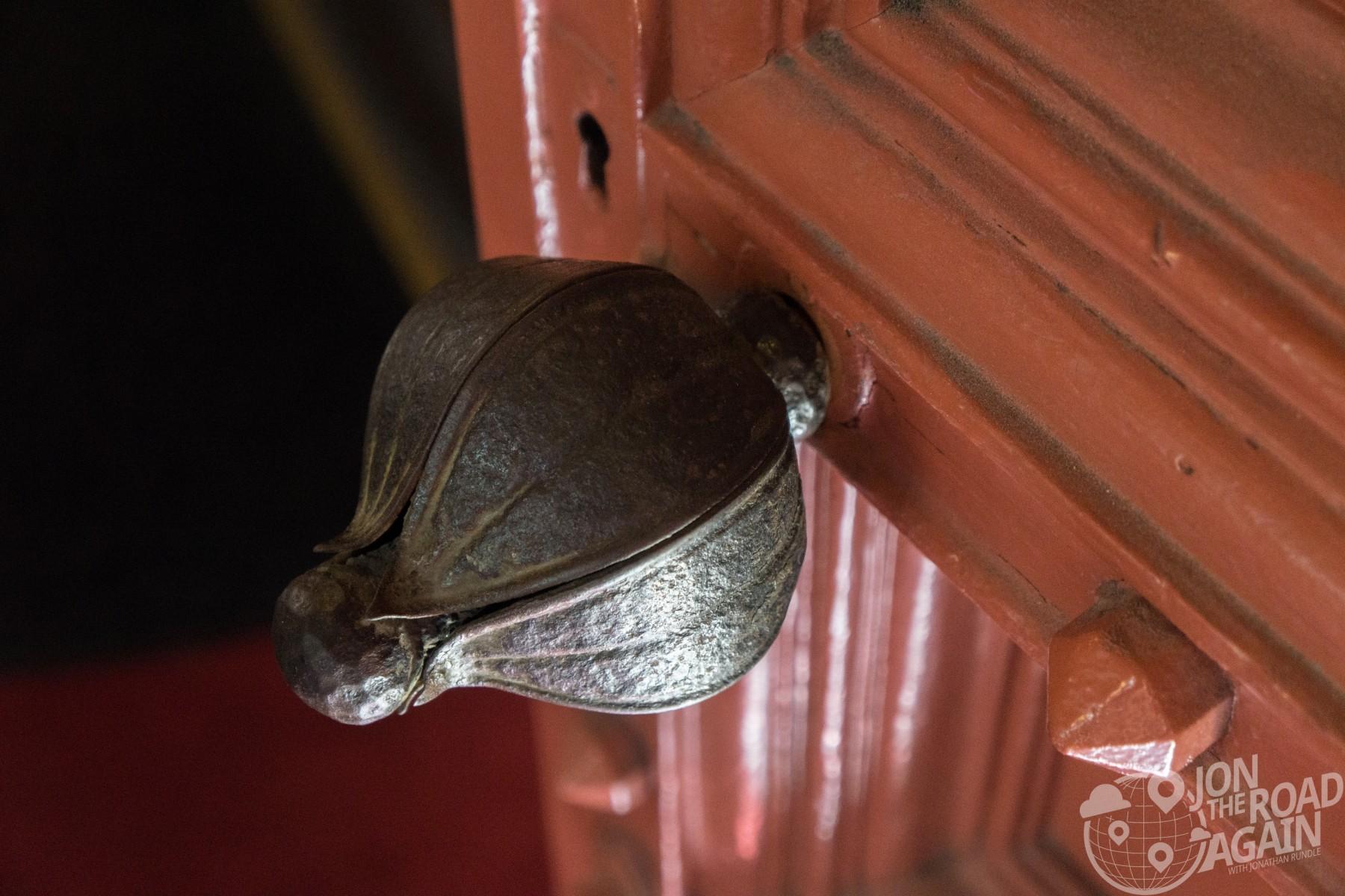 Grace United Methodist Church doorknob