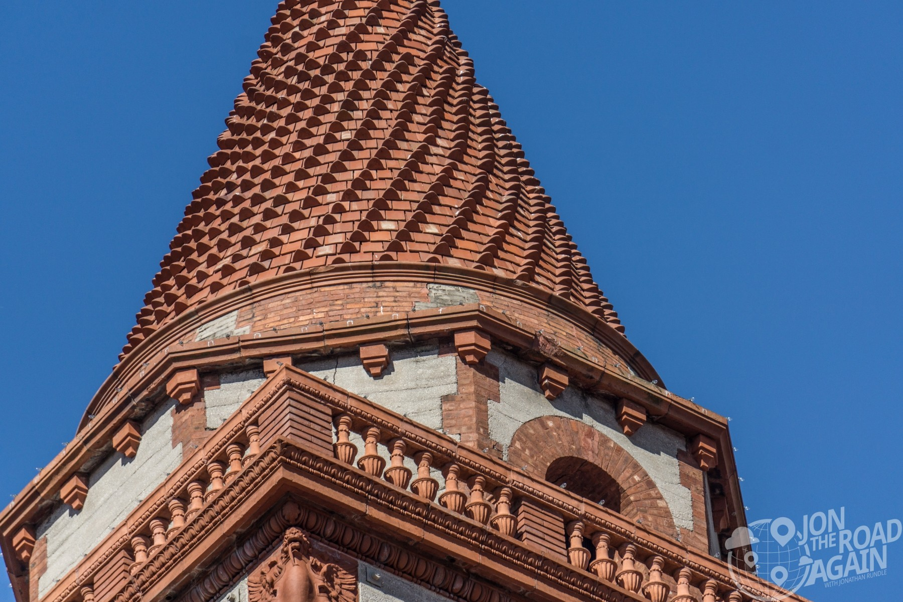 Ponce de Leon hotel / Flagler College tower detail
