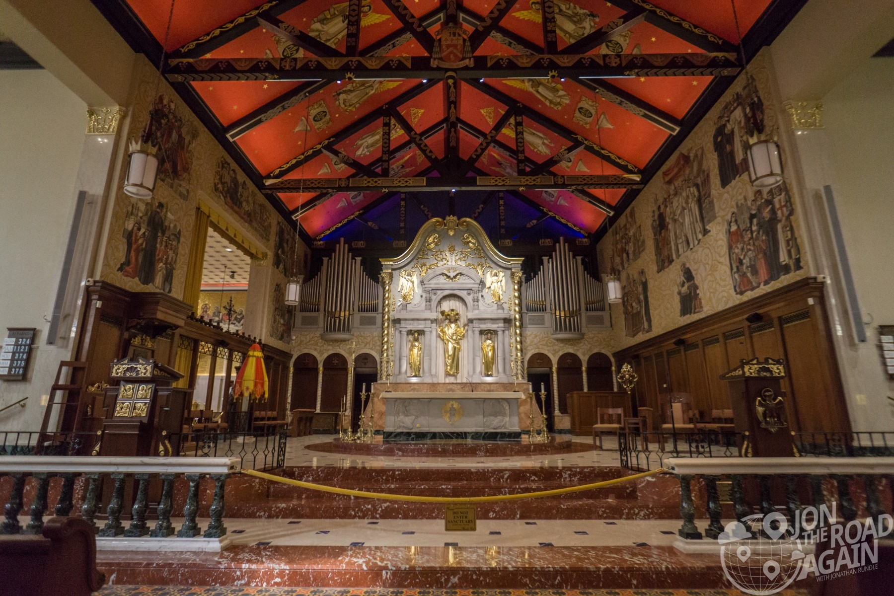 Cathedral Basilica of St. Augustine interior