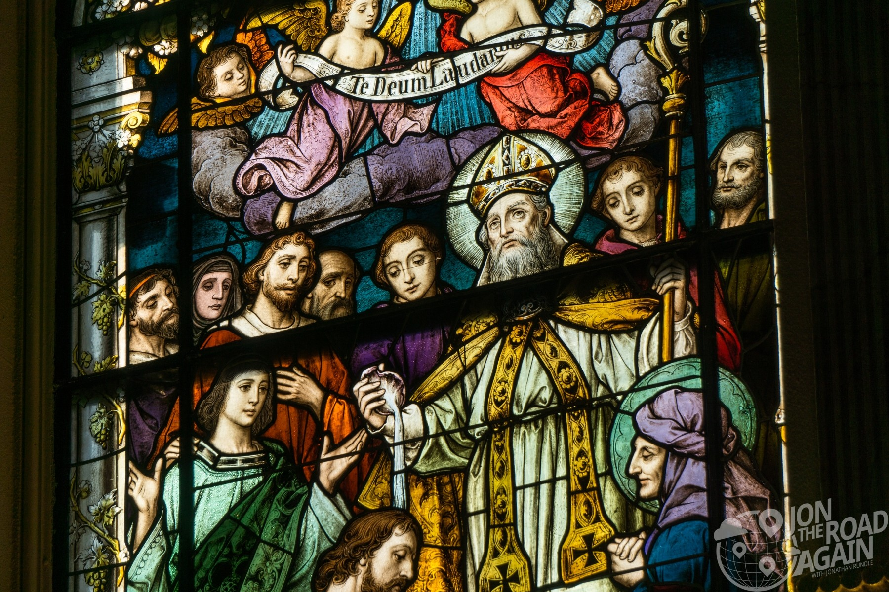 Cathedral Basilica of St. Augustine stained glass
