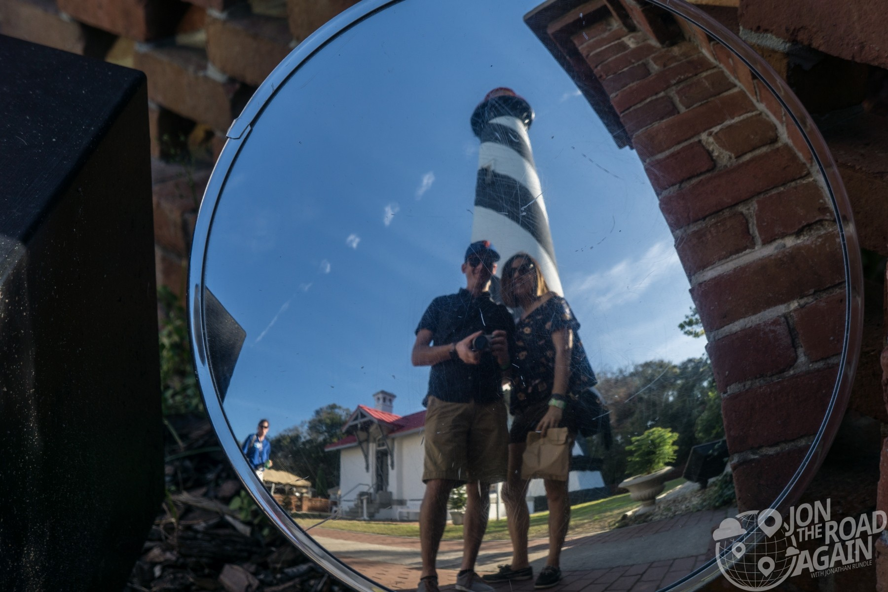 St. Augustine Lighthouse Selfie mirror