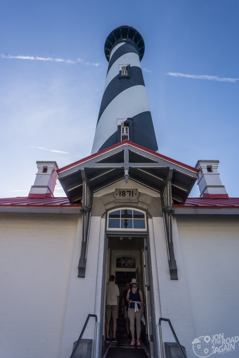 St. Augustine Lighthouse entrance
