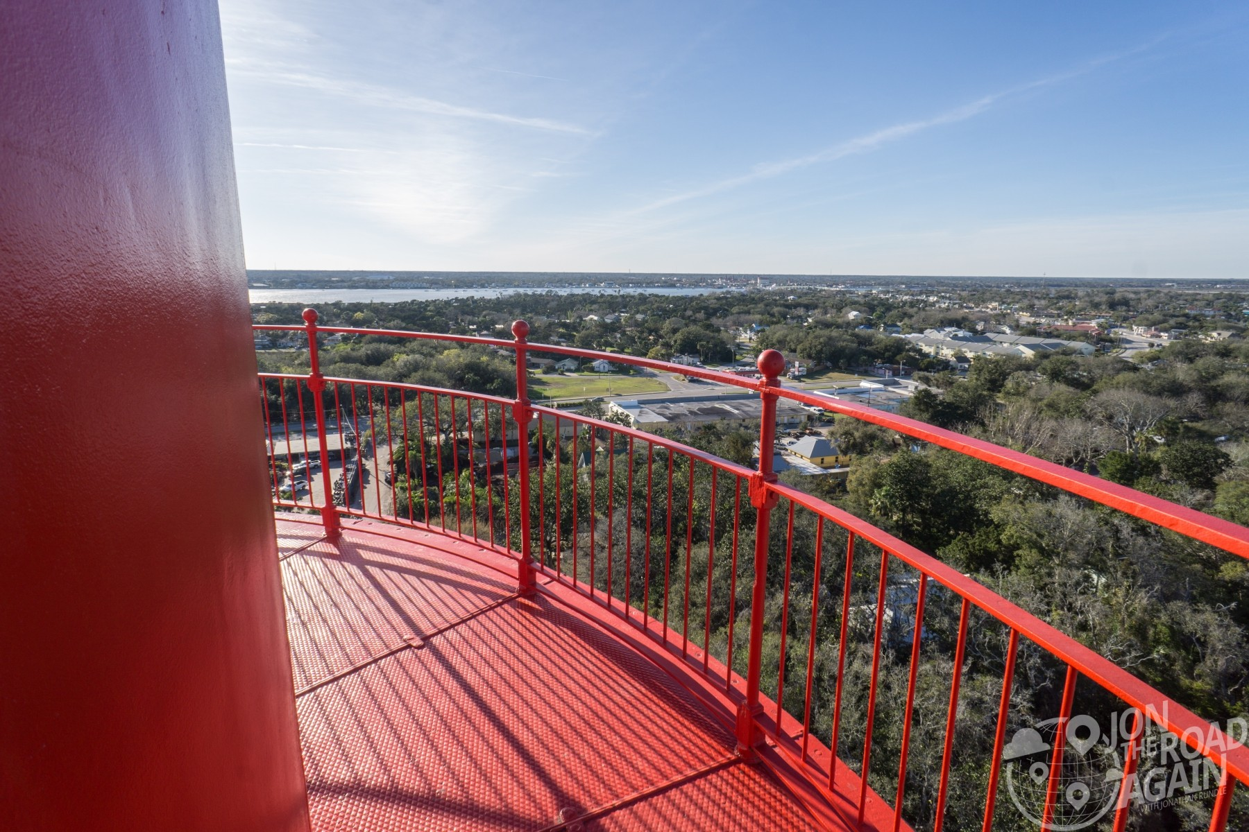 Top of St. Augustine Lighthouse