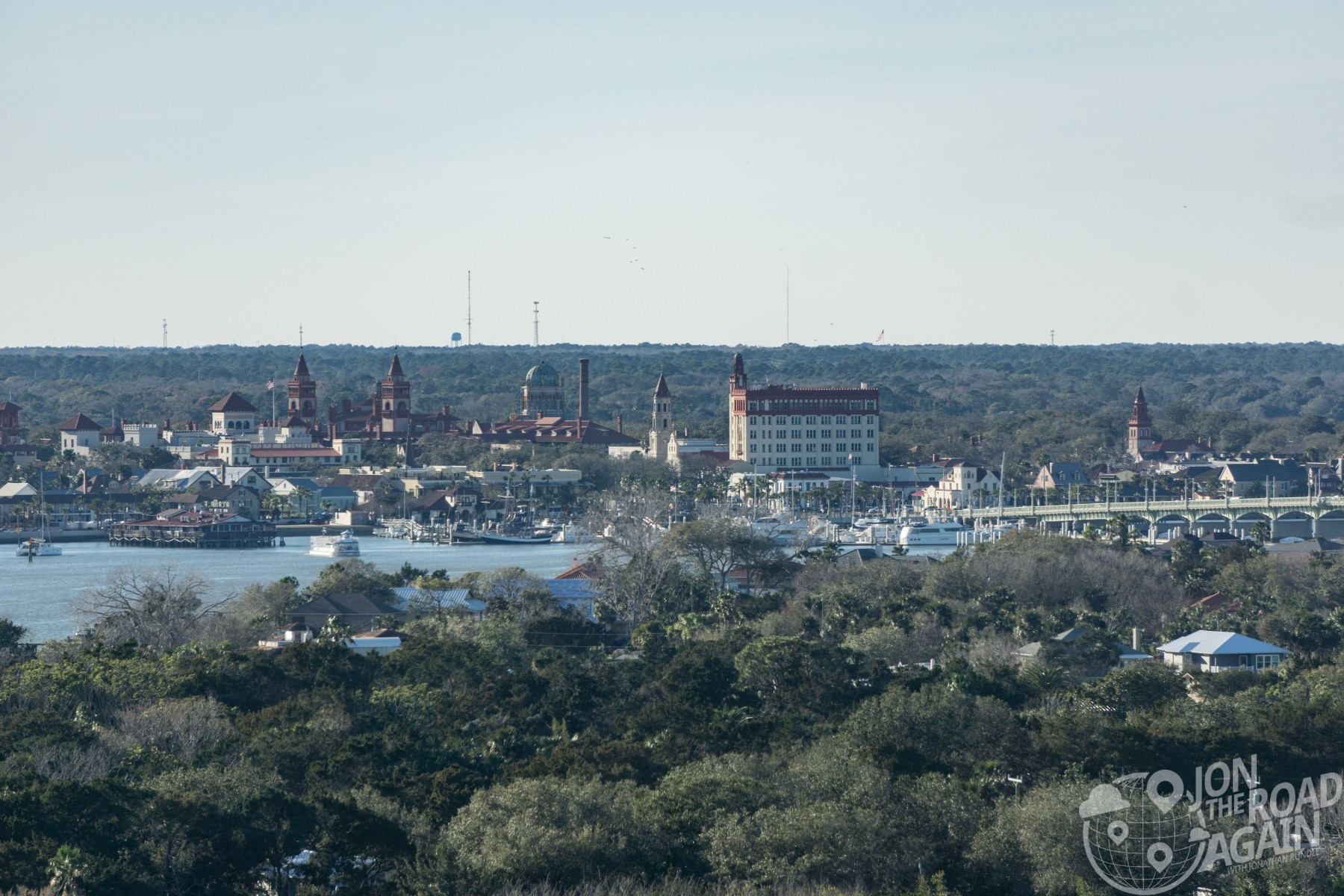 View of St. Augustine from St. Augustine Lighthouse