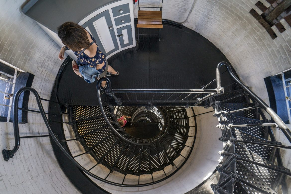 St. Augustine Lighthouse stairs