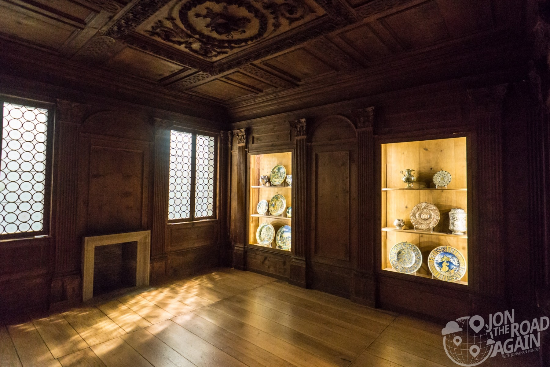 Seattle art museum Italian room