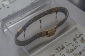 bracelet made of hair Maryhill Museum of Art