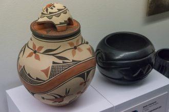 Maryhill Art Museum Native American pottery