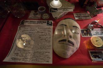 John Dillinger Death Mask