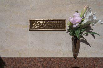 Heather O'Rourke grave