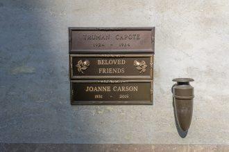Truman Capote Grave Joanne Carson