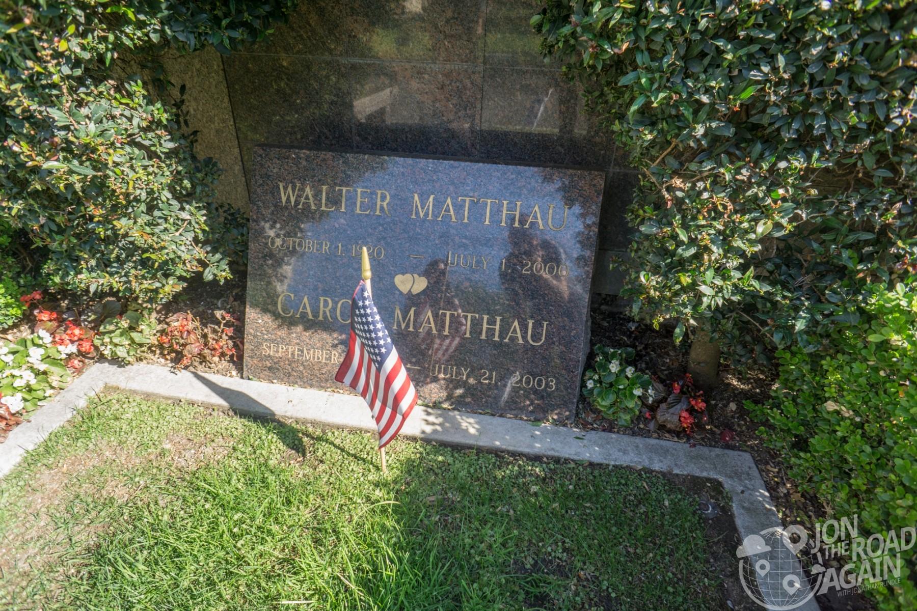 Walter Matthau grave