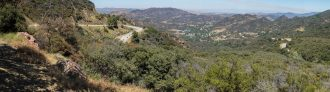 Mulholland Highway The Snake Panorama