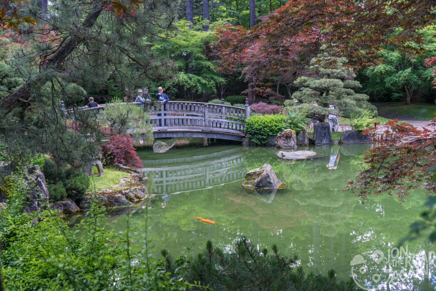 Nishinomiya Tsutakawa Japanese Garden, Spokane, WA