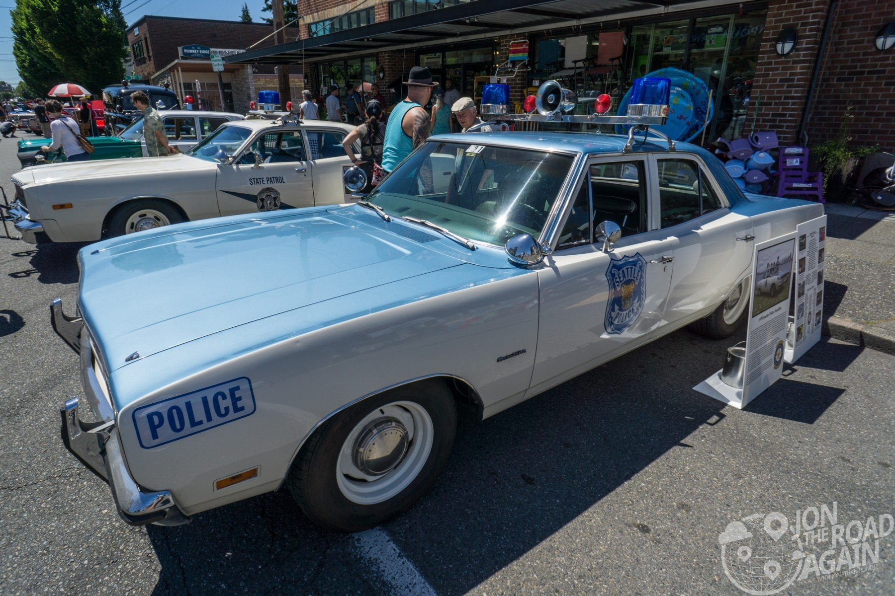 Greenwood Car Show Seattle Police