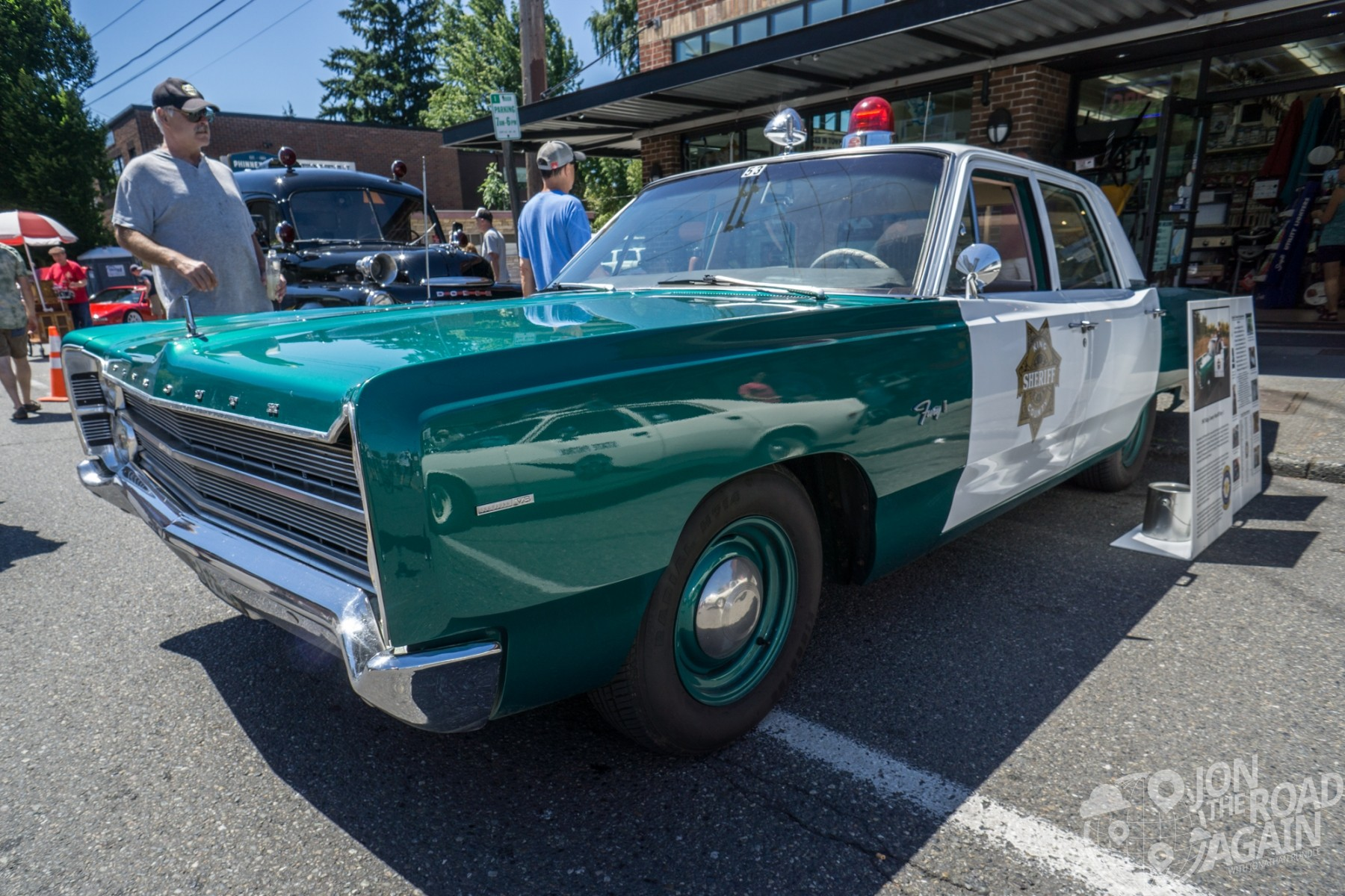 Greenwood Car Show King County Sheriff