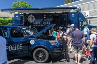 Greenwood Car Show Seattle Police Mobile Precinct