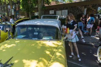 Greenwood Car Show creepy mannequin