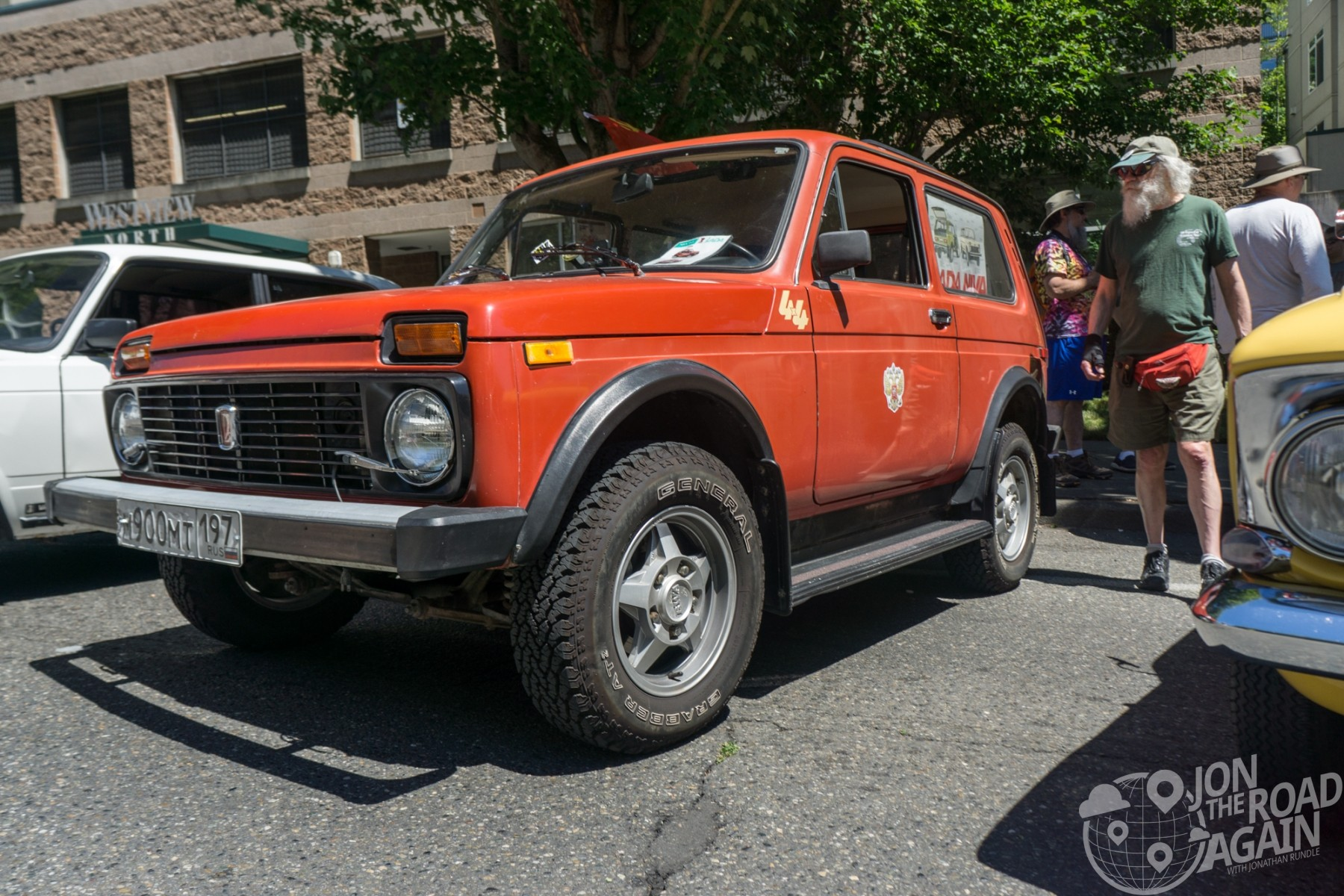 Greenwood Car Show Lada