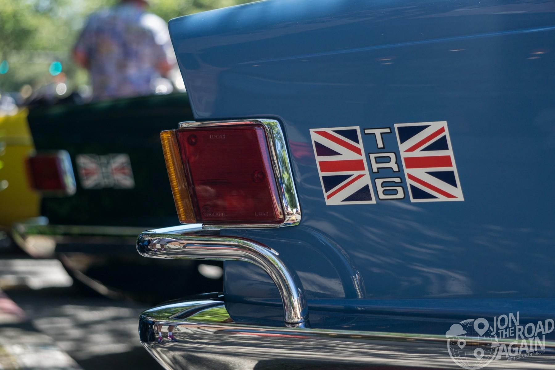 Greenwood Car Show Triumph TR6