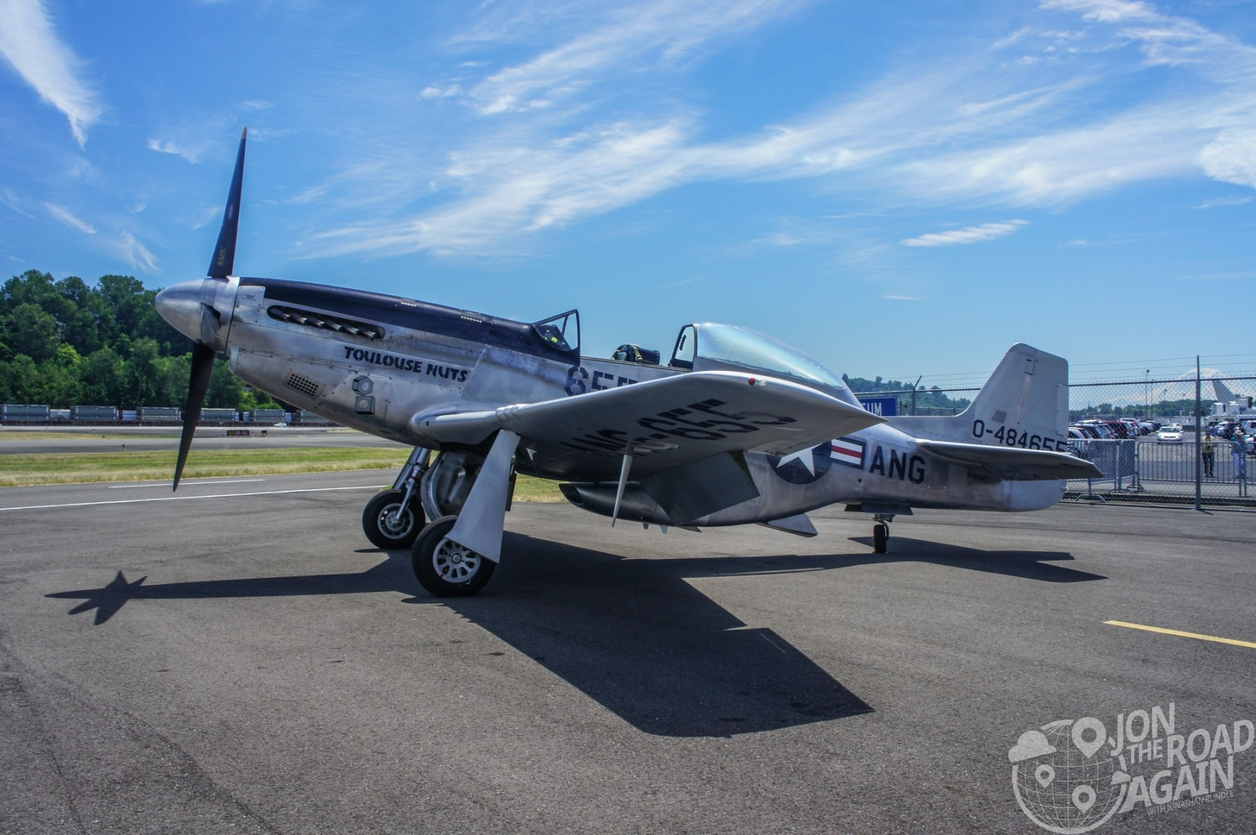 Collings Foundation TF-51D Mustang Toulouse Nuts